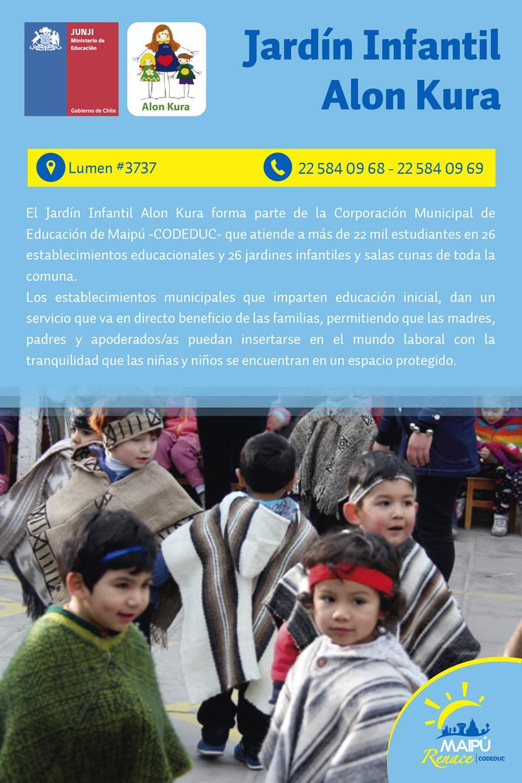 Jard n infantil alon kura for Andalue jardin infantil