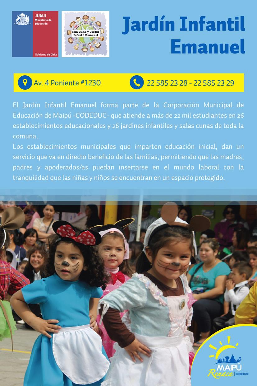 Jard n infantil emanuel for Cronograma jardin infantil 2015